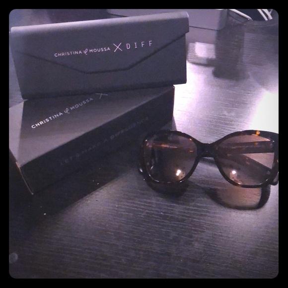 dd1265a0607 Christina el Moussa X Diff sunglasses